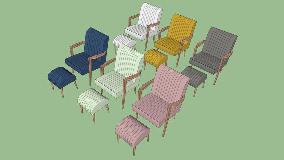 Poltrona Bibi - Ameise Design