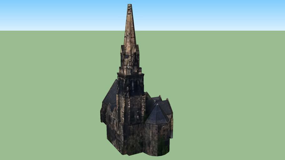 St James Church in Edinburgh EH6 6BE, UK