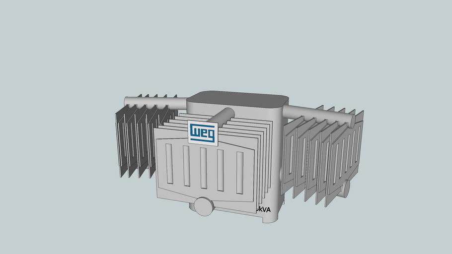 Transformador de distribuição WEG 112,5KVA