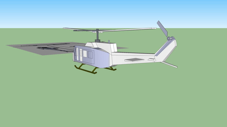 BELL UH-1N TWIN