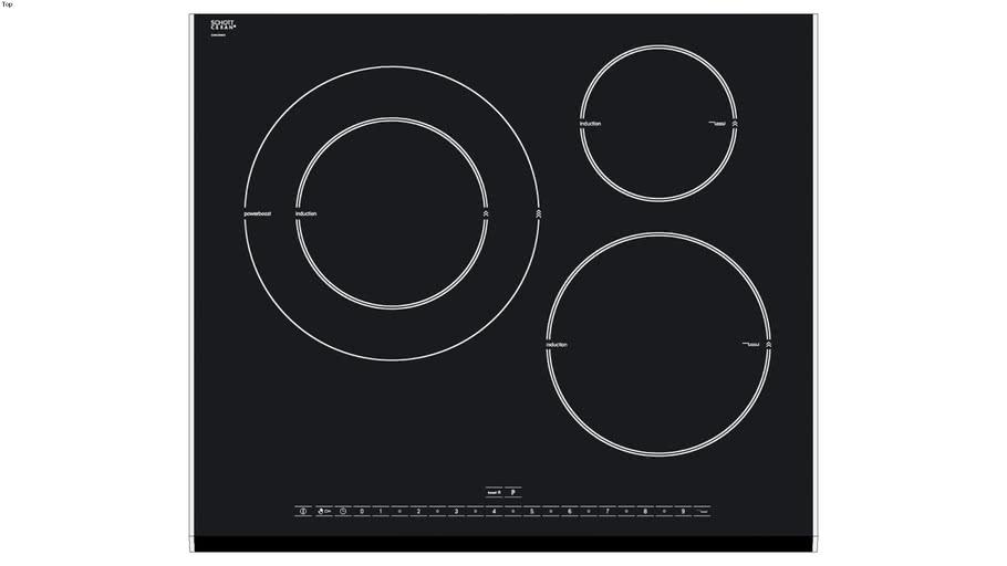 Bosch PIK675N24E 60 cm. placa inducción