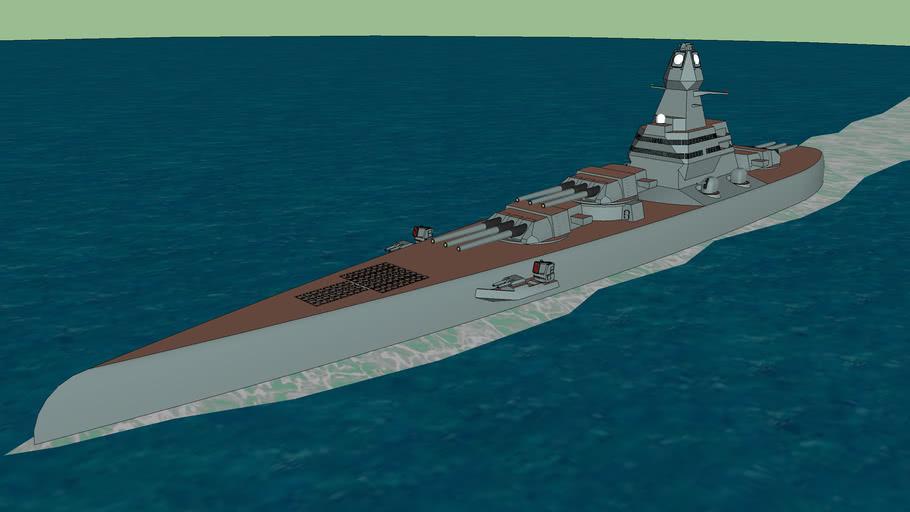 Project-7785B (Modern Stealth Battleship)