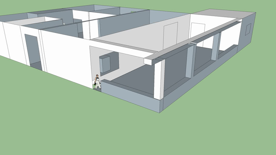 Plan 3d Maison 1 3d Warehouse