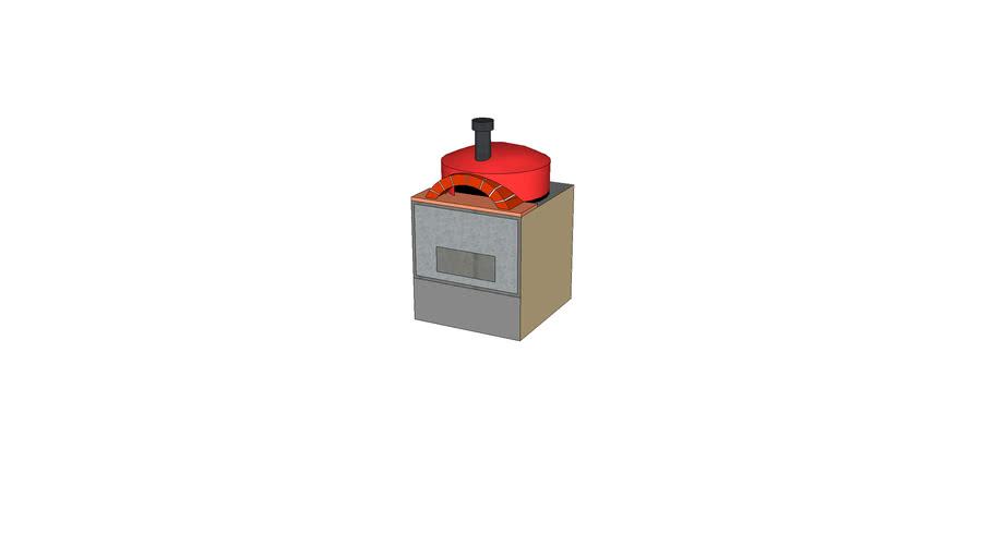 Casie pizza oven