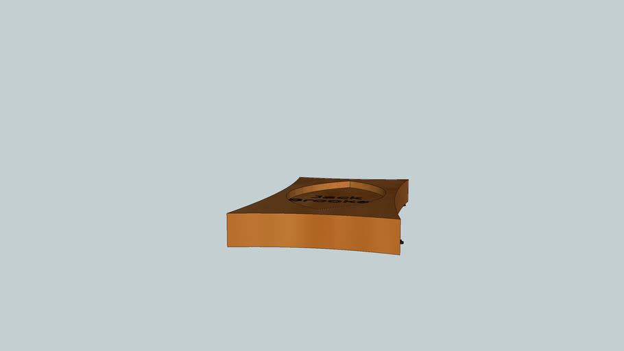 paw print base design