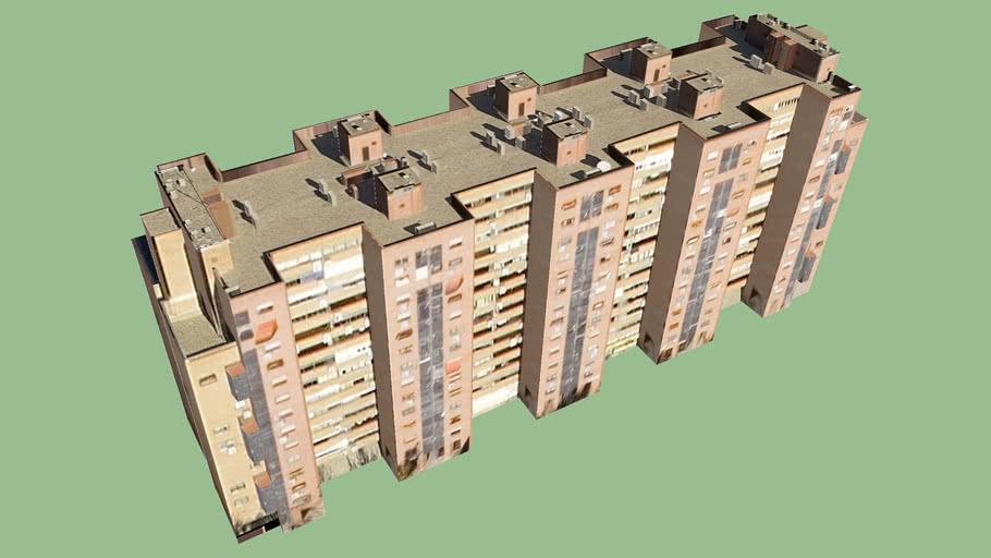 Edificio in Madrid, Spagna