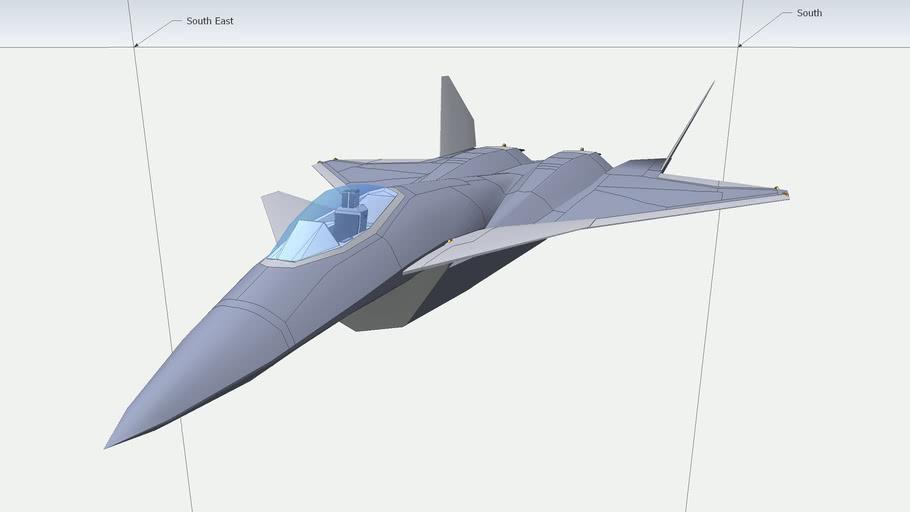 Sketchyphysics Fighter Jet - J-13 Flight Simulation (Model by diasmon)