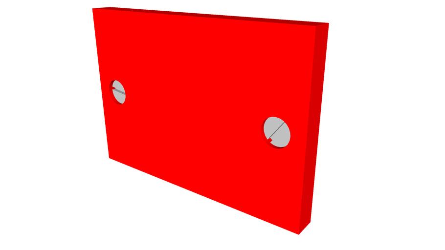 Reflector rood 1