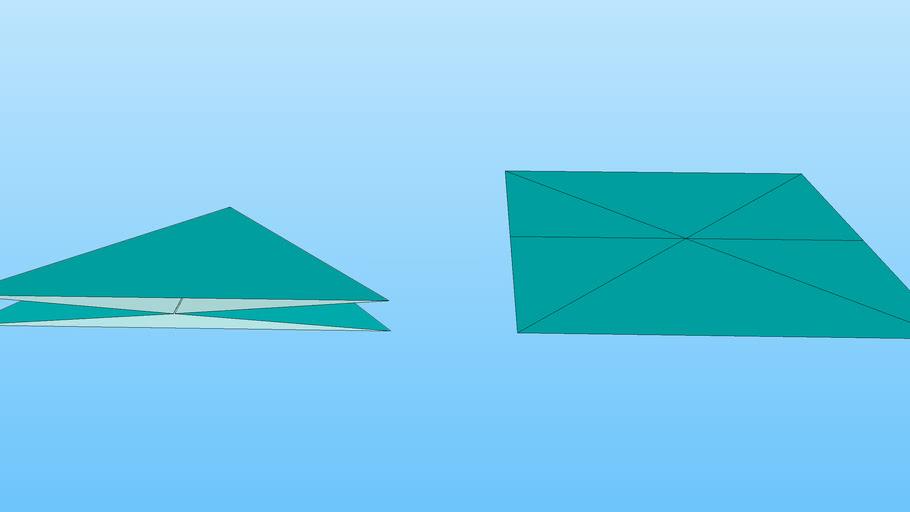 Origami Waterbomb Base | Origami water bomb, Star wars origami ... | 512x910