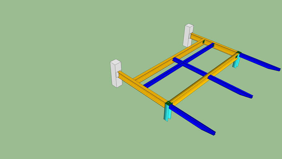 CONOPY-08 ROOF FRAMING