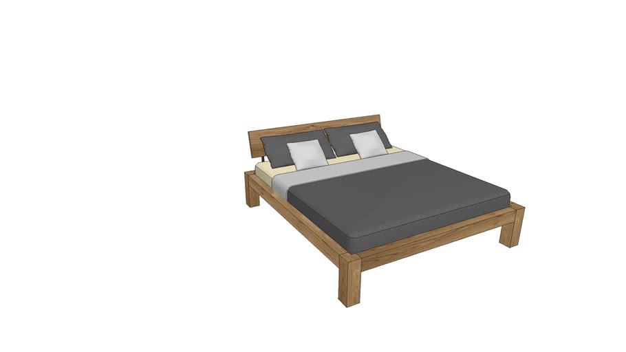 BA740, Basel Bed 180x200cm