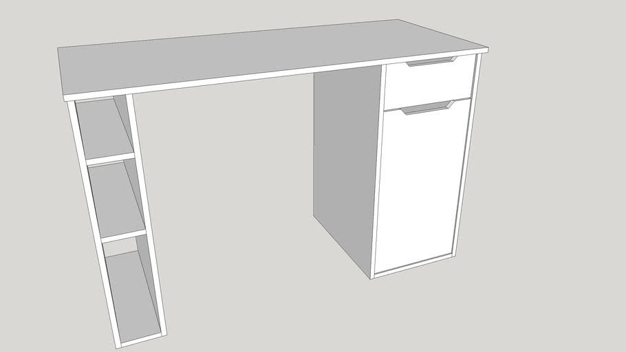 Maja Vegas Computer Desk - White
