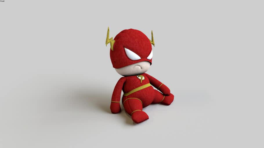 _Decoração_Brinquedo_(Superheroes Toy - Flash)