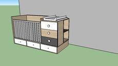 Furniture - babybed