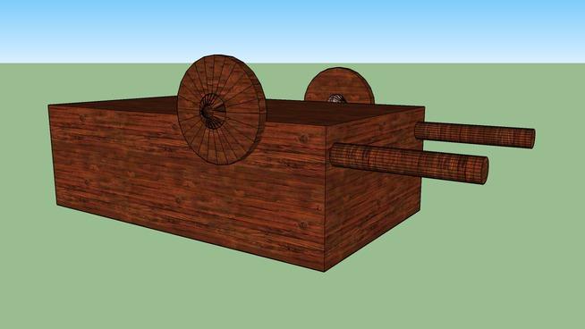carro de madera