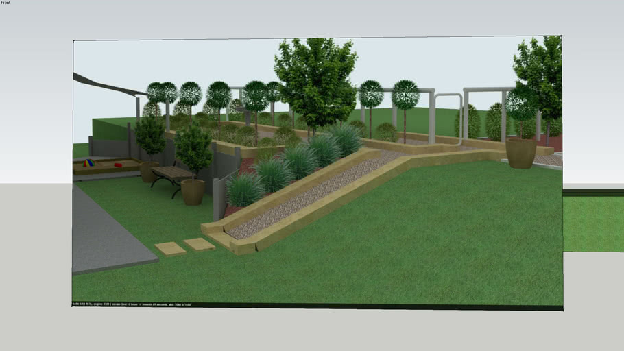 Landscape Garden Design 3d Warehouse