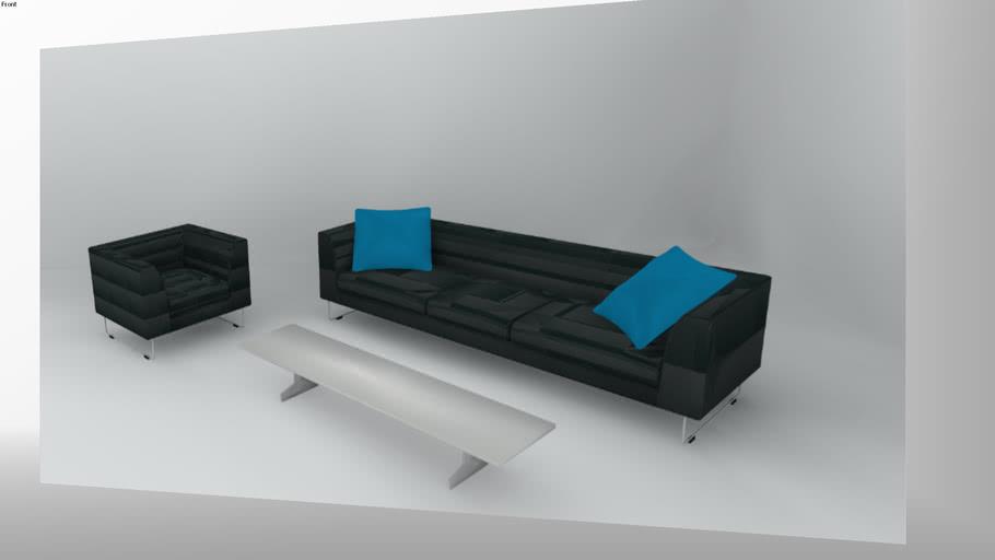 Cappellini Living Room by Politik Design