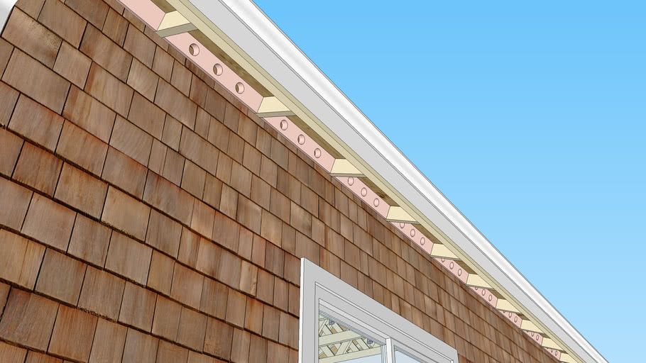 Heel Blocking of a Gable Roof