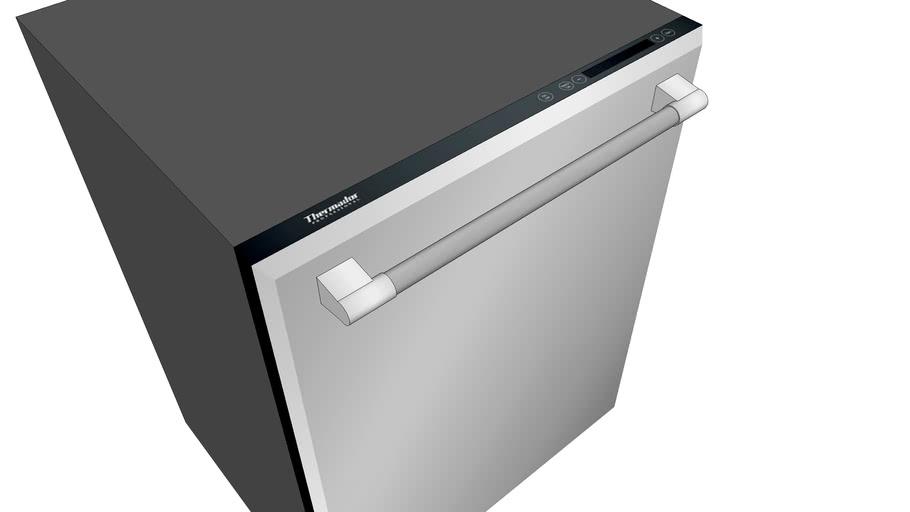 "24"" Dishwasher (9-Program Stainless Steel)"
