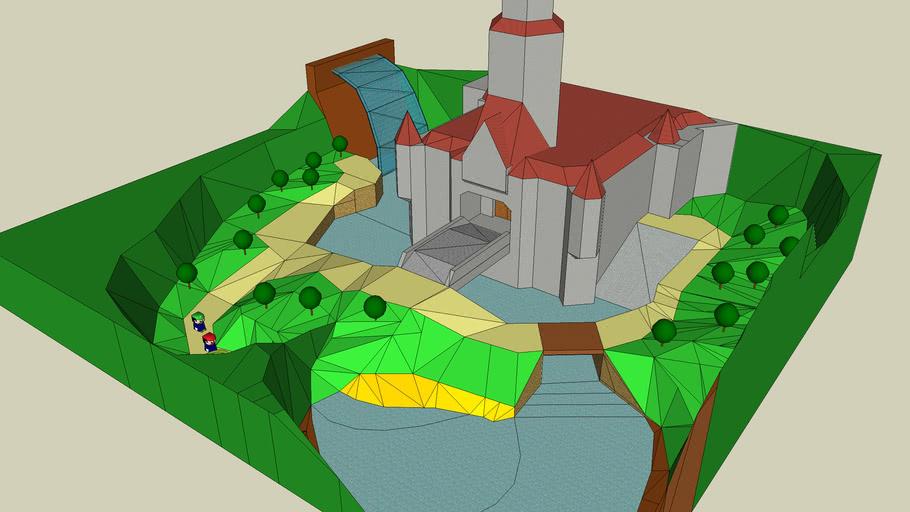 Nintendo64 Toadstool Castle!