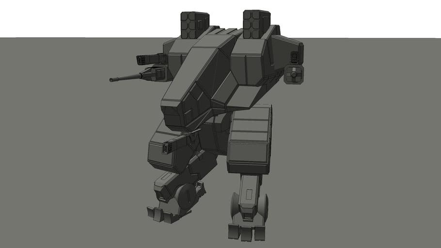 MECHA Battlemech Robot ZULU