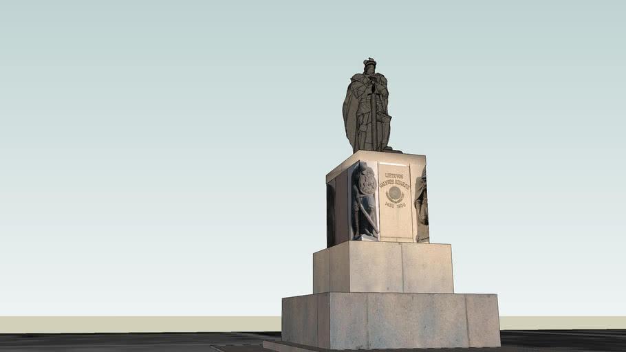 Vytautas Grand Duke Of LDK (bronze only)