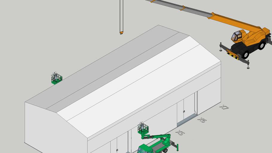 メンブリーシリーズ テント倉庫
