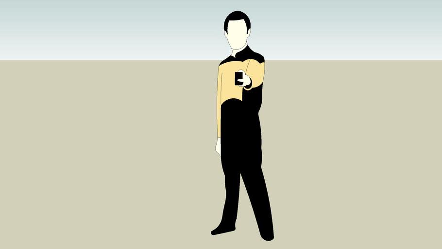 Star Trek Lt. Commander Data 2d