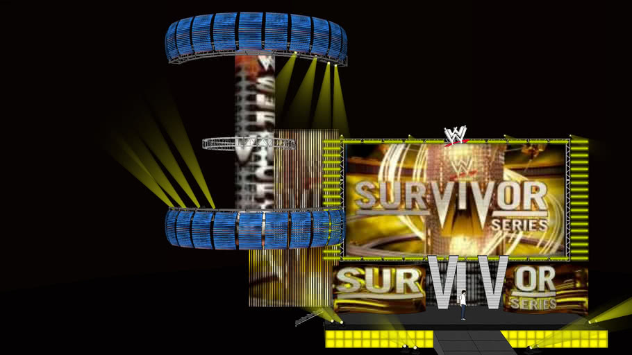 2010 survivor series stage