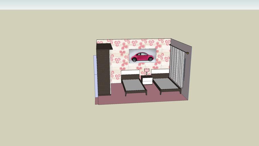Galleria Italia : Pink Bedroom Theme