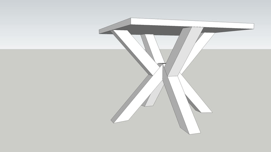 Kitchen Table Crossed Legs