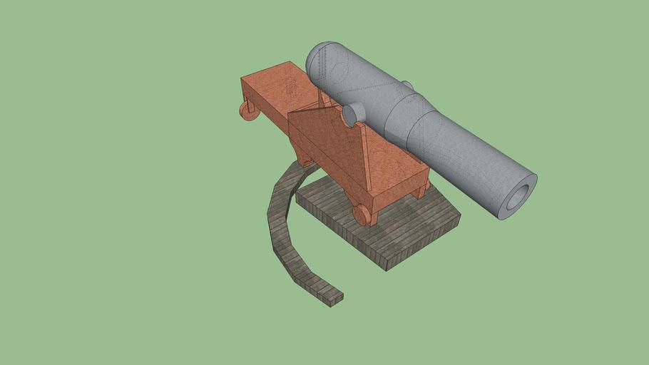 Civil War Fort Cannon