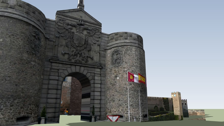 Puerta de Bisagra y Puerta de Alfonso VI