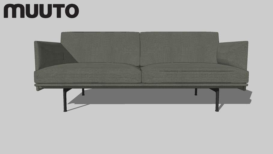 Muuto Sofa | OUTLINE 2_seater