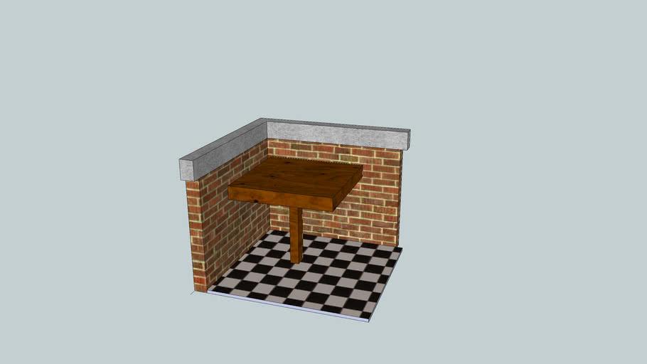 mesa pequena madeira