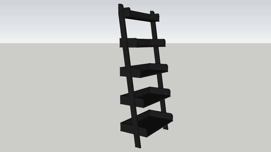 Slanted Book Shelf