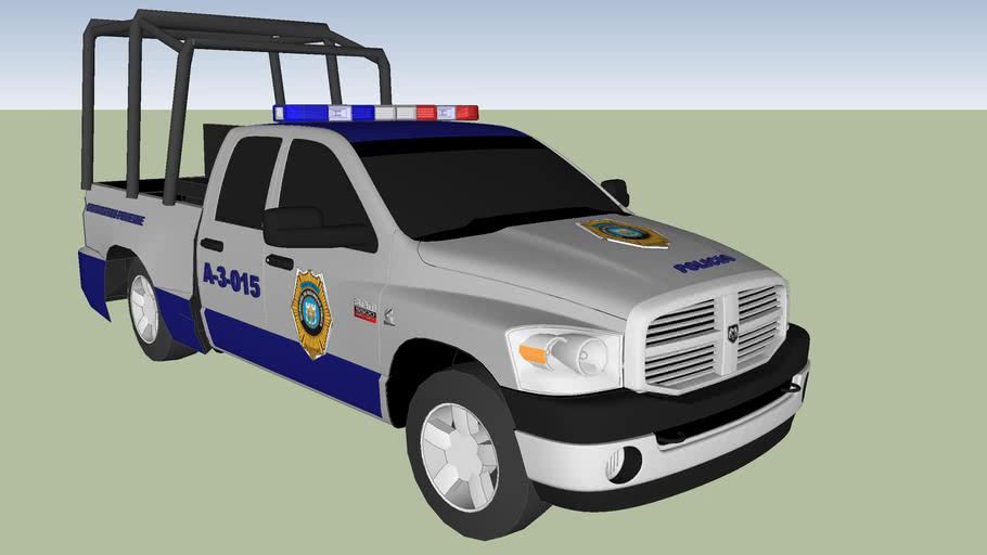 patrulla de la policia metropolitana  ciudad de mexico distrito federal