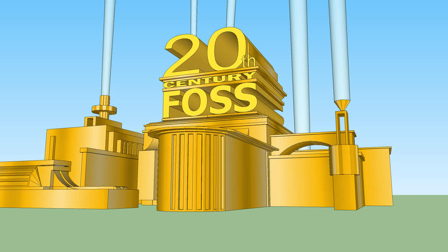 20th Century Foss Logo (Edited Version)