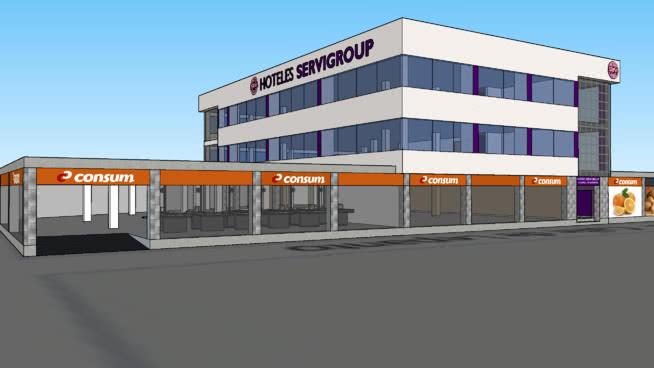 Proyecto Central de Reservas Hoteles Servigroup en Benidorm