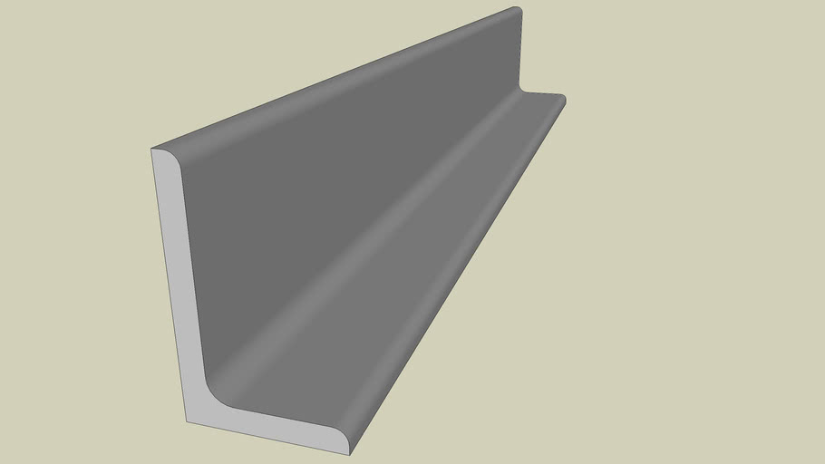 STEEL SECTION - UNEQUAL ANGLE 40 X 25 - PART 138 OF 180