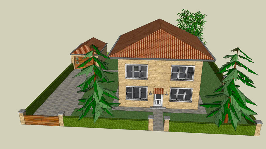 house ,home 1st sketch up model