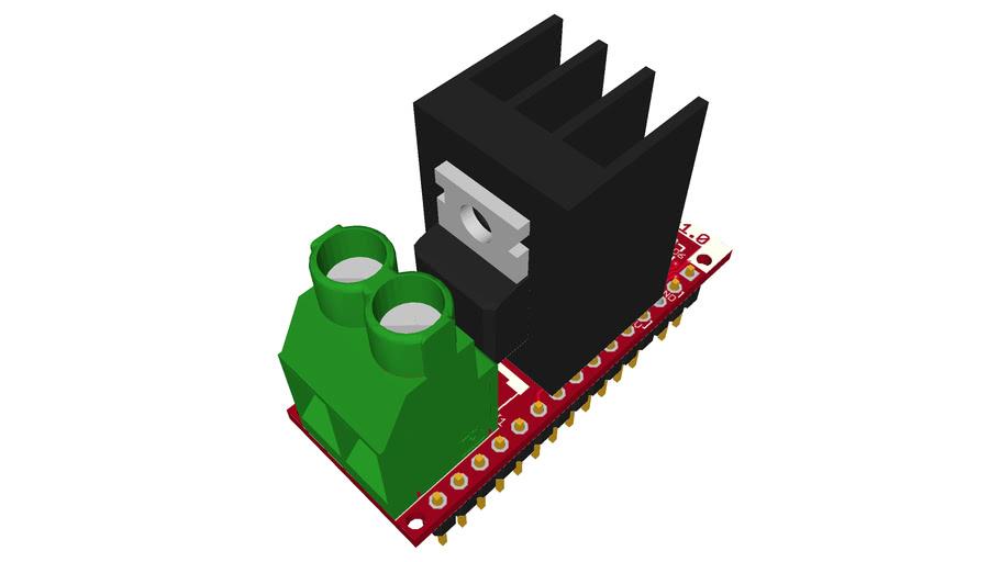 Nanoshield Triac v1.0