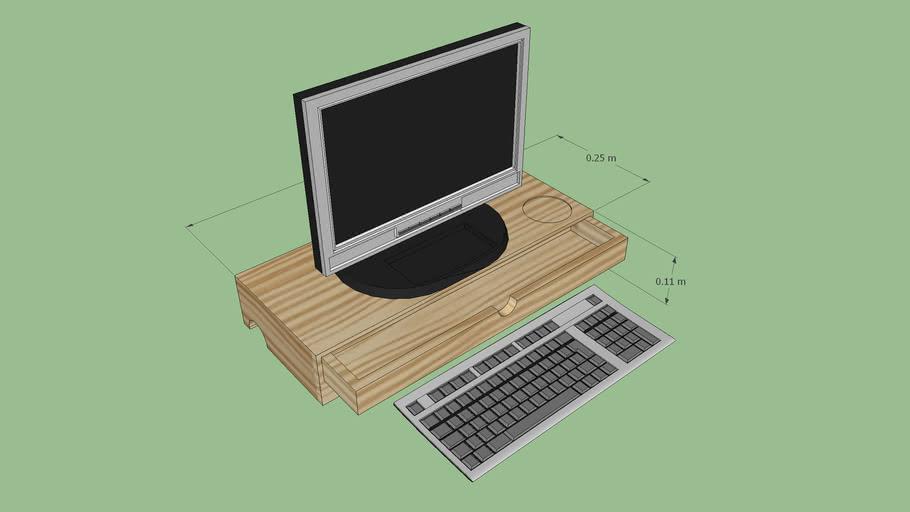 Amit Monitor Stand - M-Desk