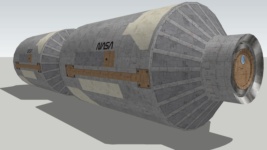 A NASA/ESA lab module.