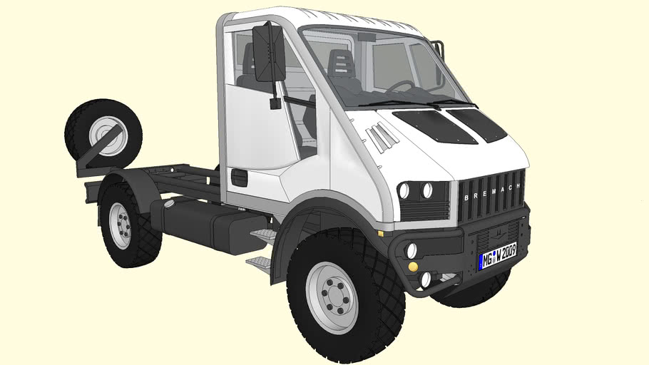 BREMACH 4x4 T-REX 35-60