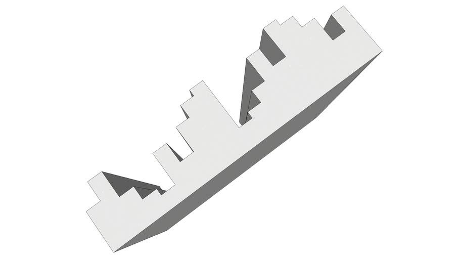 EliAcoustic Fussor 2d White