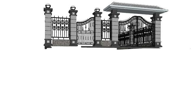 gate | 3D Warehouse