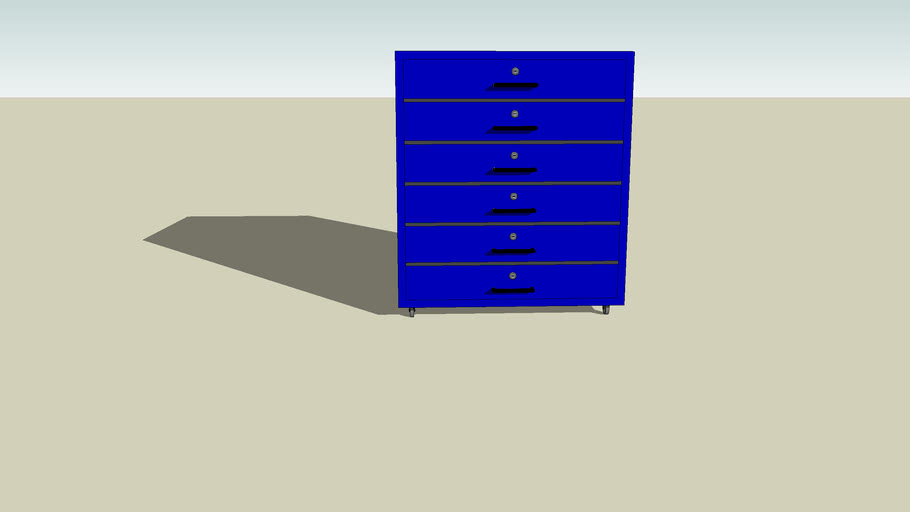 Blue Cabinet for ECT