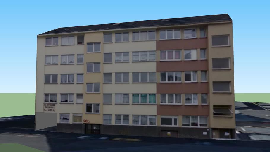 Gebäude an der Friedrich Engels Allee, Wuppertal