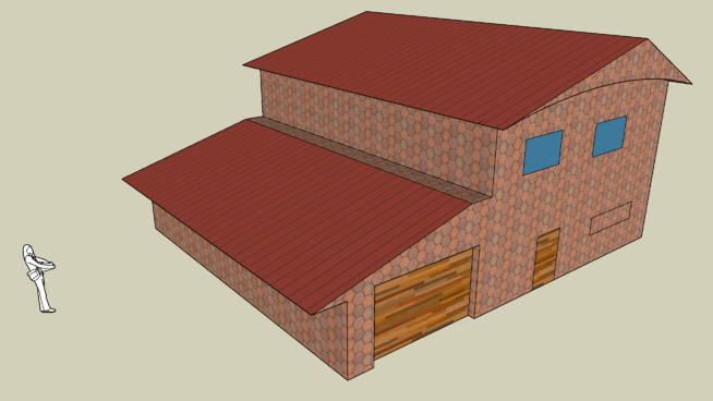 house with garrage